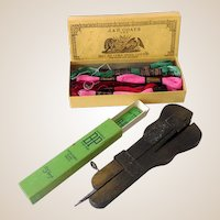 (3) Vintage Sewing Items Plus Embroidery Thread