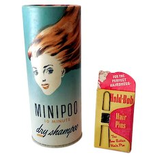 (2) Vintage Hair Care Products