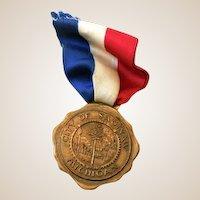 City Of Saginaw Michigan Bronze Medal