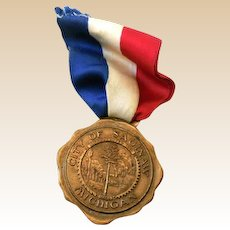 City Of Saginaw Michigan Bronze Medal