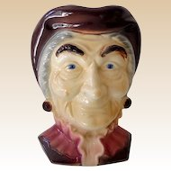 Large Royal Copley Wall Pocket Head Vase