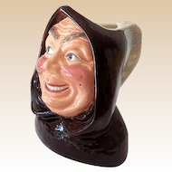 Vintage Sylvac Character Toby Jug Friar Tuck Made in England