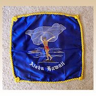 Hawaiian Net Fisherman Embroidered Pillow Slip