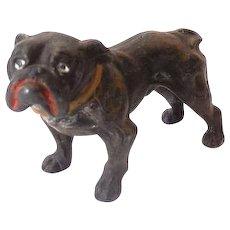 Small Vintage Metal Bull Dog
