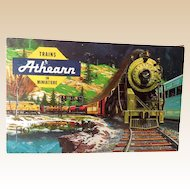 1950s Athearn HO Scale Santa Fe Freight Train Set in Original Box  11 Cars