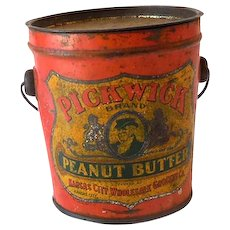 Rough But Rare Peanut Butter Bucket Tin With Lid