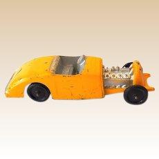 Cool Vintage Die Cast Metal Toy Dragster Race Car