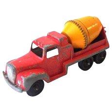 1950s Tootsietoy Toy Truck Cement Mixer