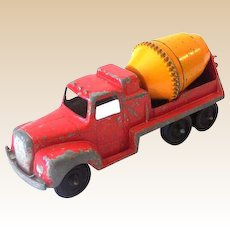 1950s Tootsietoy Toy Truck Cement Mixer