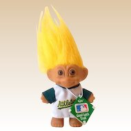 1991 Russ Troll Doll Oakland Athletics