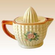 1940s Ceramic Reamer  Pink Roses