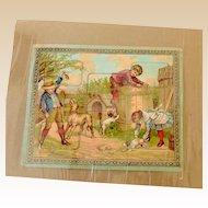 1800's Child's Puzzle Germany