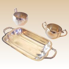 (3) Nice Vintage Silver Plated Serving Pieces