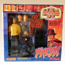 1989 Freddy Krueger Doll Set In Original Box Nightmare on Elm Street