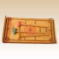 "Vintage Game ""Nerve Croquet"" in Box 1890-1900"