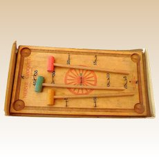 "Vintage Game ""Nerve Croquet"" in Box 1890-1900"