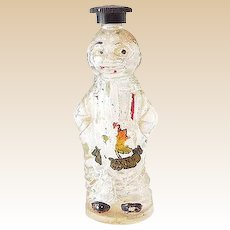 Unusual Figural Man Perfume Bottle