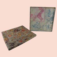 Vintage Childrens Handkerchiefs in Original Box