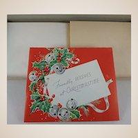 Vintage Christmas Card Set Unused in Box