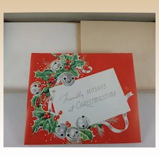 Vintage Christmas Card Set Unused in Box