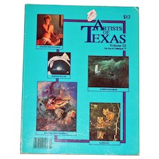 Artists of Texas Volume 3, The Fine Art Catalogue