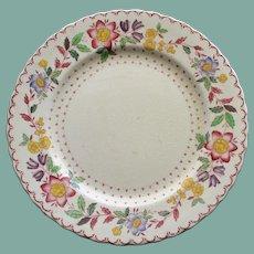 "Antique English Masons ""Arbor"" Ironstone Plate, 7 7/8 Inches"
