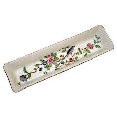 Aynsley Porcelain Pencil Holder or Pin Dish