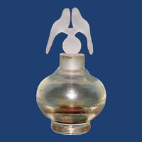 Perfume Bottle with a Pair of Birds Stopper,  Irice Import