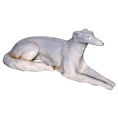 Erphila Porcelain Figurine of Russian Wolfhound (Borzoi) # 9548