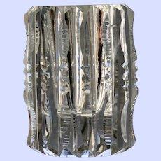 Cut Glass Toothpick, American Brilliant Period