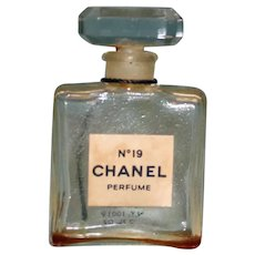 Chanel No. 19 Perfume Bottle