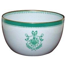 Antique Copeland Spode Bowl, Newburyport Green
