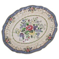 "Royal Doulton Large Platter ""The Vernon"", 13.25"" by 10.75"""