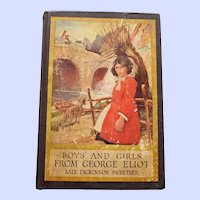 """""""Boys and Girls From George Eliot"""" by Kate Dickinson Sweetser, 1906, Decor"""