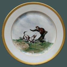 Vintage Hunt Plate # 5, Heinrich & Co., Selb, Bavaria