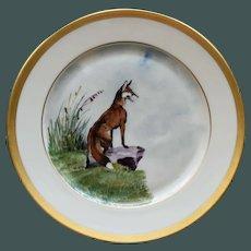 Vintage Hunt Plate # 3, Heinrich & Co., Selb, Bavaria