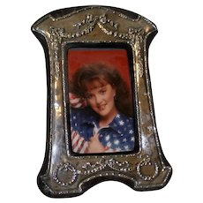 English Sterling Picture Frame