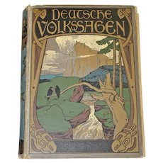 Deutsche Volkssagen (German Folk Tales) by Rudolph Reichhardt