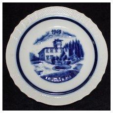 Richard Ginori: La Petraia, one of Le Ville Florentine Collection of Plates 1969