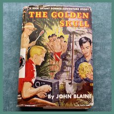 """The Golden Skull"" by John Blaine"