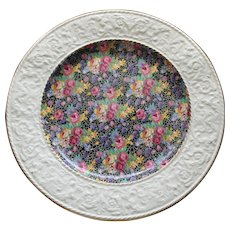 Large Royal Winton Chintz Hazel Platter, 12 Inches