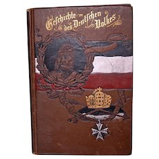 """History of the German People"" by Hermann Lieb, 1889"