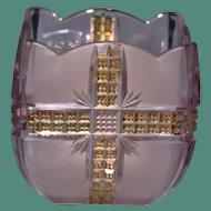 Antique EAPG Klondike Pattern Glass Spooner, Dalzell, Gilmore & Leighton