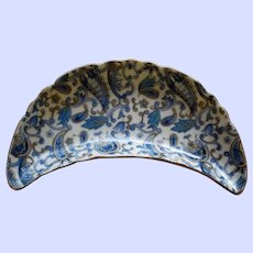 Vintage Lefton Hand Painted Paisley Bone Dish