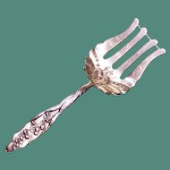 Whiting Sterling Lily of the Valley Solid Asparagus Server - Rare Piece
