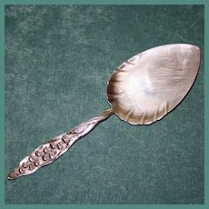 Antique Whiting Sterling Lily of the Valley Pie Server