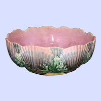 Antique Griffen, Smith, & Hill Etruscan Majolica Bowl, 8 Inches