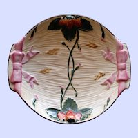 Antique Wedgwood Majolica Strawberry Dish