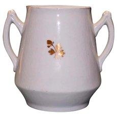 Antique Ironstone Tea Leaf Sugar Pot by Mellor, Taylor & Co.