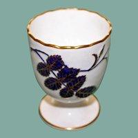 Antique Minton Cobalt Egg Cup